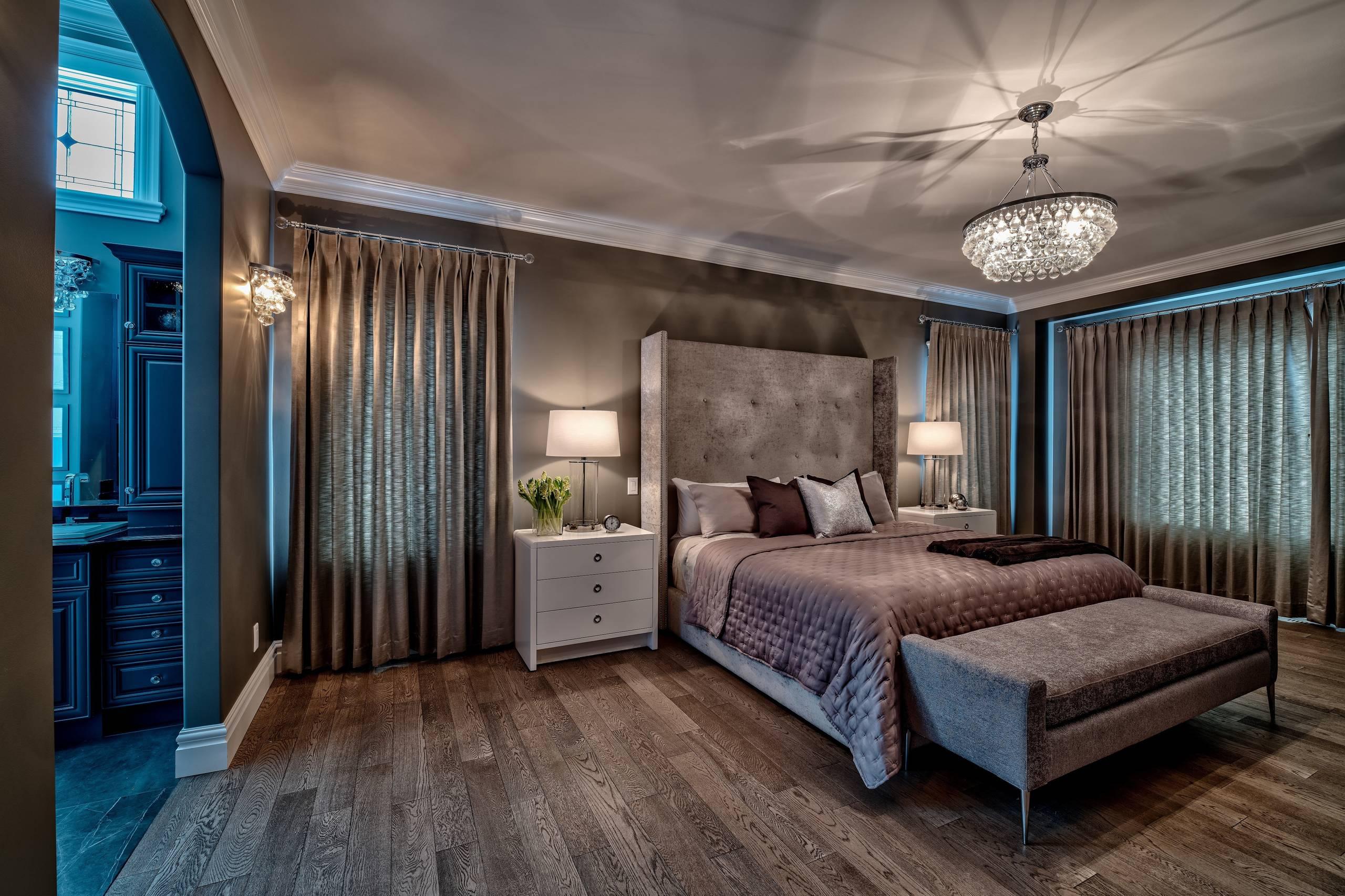interior design services luxurious master bedroom