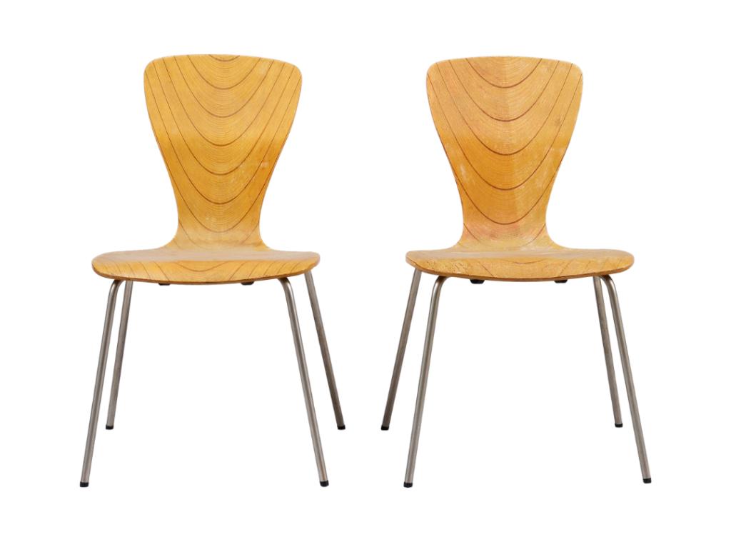 Scandinavian Design - Wooden Chairs
