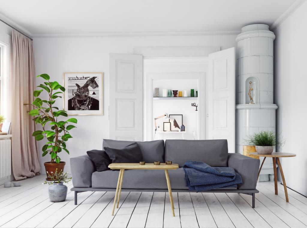 Scandinavian Design - Room showcasing neutral colours and classic Scandinavian design elements
