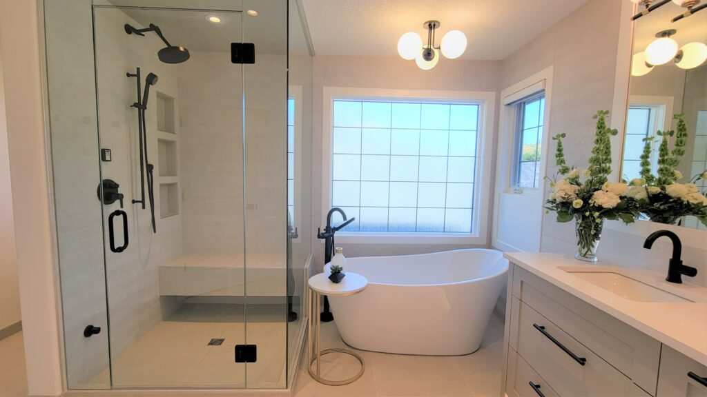 Case Study Part 2 Ensuite Tub and Steam Shower