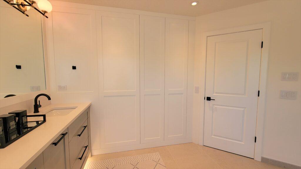Case Study Part 2 Ensuite Hidden Cabinets